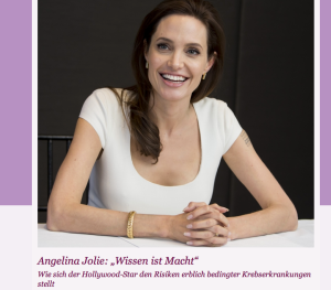 Angelina Jolie Ovarialkarzinom